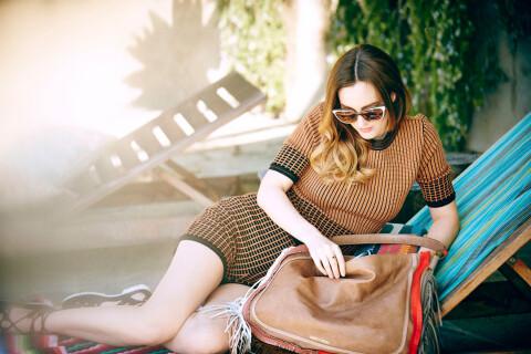 Leighton Meester, nouvelle égérie Jimmy Choo : ''La mode m'intéresse davantage''