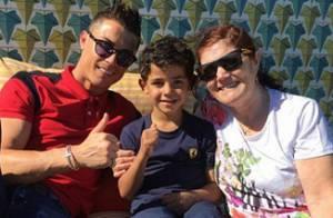 Cristiano Ronaldo : Vacances avec son fils et sa maman pour oublier Irina Shayk