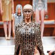 Amber Rose - Défilé de mode Laurel DeWitt prêt à porter Automne-Hiver 2015 lors de la fashion week à New York, le 15 février 2015