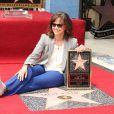 Sally Field reçoit son étoile sur le Walk of Fame à Hollywood le 5 mai 2014.