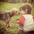 Vanessa Lachey a ajouté une photo de son fils Camden John sur Instagram, le 14 avril 2014