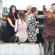 """Demi Moore et ses filles Tallulah Belle et Scout LaRue a sont venus soutenir leur fille Rumer, qui participe à la nouvelle saison de l'émission """"Dancing with the Stars"""" à Hollywood le 16 mars 2015."""