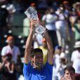 Novak Djokovic s'est imposé face à Andy Murray en finale du Masters de Miami, le 5 avril 2015
