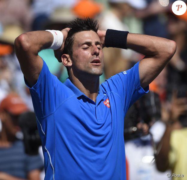 Novak Djokovic a décroché le titre à Miami, face à Andy Murray en finale du Masters, le 5 avril 2015