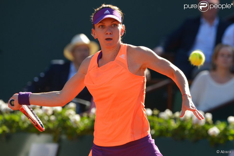 Simona Halep à Roland-Garros à Paris, le 5 juin 2014.