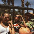 Haily Baldwin et Kendall Jenner au festival de Coachella, à Indio, le 10 avril 2015