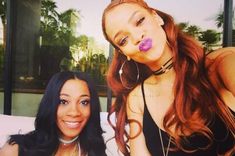 Rihanna : Rousse et canon pour l'anniversaire de sa BFF Melissa Forde !