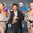 Pascal Elbé - La 10ème cérémonie des Globes de Cristal au Lido à Paris, le 13 avril 2015