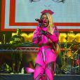 """Azealia Banks - Concerts lors de l'évènement """"Orange RockCorps"""" pour la 6ème année consécutive au Trianon à Paris, le 2 juillet 2014."""