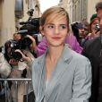 Emma Watson à Paris, le 30 septembre 2008.