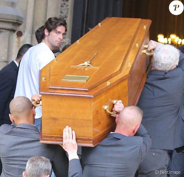 Obsèques de Patrice Dominguez en la Basilique Sainte-Clotilde à Paris le 16 avril 2015