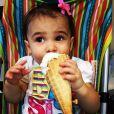 Photo de Vivianne, fille de Jessie James Decker, sur Instagram. Avril 2015