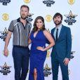 Lady Antebellum lors des 50ème Academy of Country Music Awards au Stadium d'Arlington, Texas, le 19 avril 2015