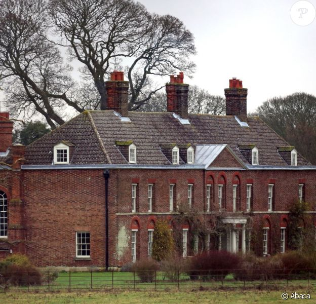 Anmer Hall, maison de campagne du prince William et de Kate Middleton, en janvier 2013.