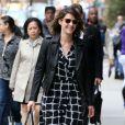 """Cobie Smulders arrive au déjeuner """"Juror"""" du Festival du film Tribeca 2015 à New York, le 16 avril 2015"""