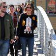 Cobie Smulders dans les rues de Park City lors du Festival du Film de Sundance dans l'Utah, le 25 janvier 2015