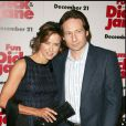 David Duchovny et Tea Leoni à Los Angeles, le 14 décembre 2005.