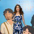 Salma Hayek lors de la conférence de presse du film Le Prophète à Beyrouth le 27 avril 2015