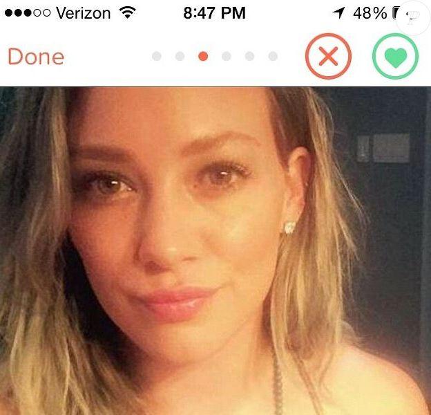 Photo du profil Tinder d'Hilary Duff