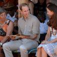 Le duc et la duchesse de Cambridge à Uluru le 22 avril 2014