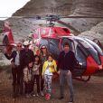Johnny Hallyday, son épouse Laeticia et leurs filles Jade et Joy ont fait un voyage à travers le grand ouest américain en avril 2015, accompagné de leur ami Pierre Rambaldi et ses proches