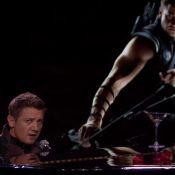Jeremy Renner chanteur : Malheureux, accablé mais hilarant !