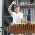 Brad Pitt à la Nouvelle-Orléans, le 17 mai 2014.