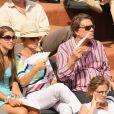 Bernard Tapie et sa fille Sophie