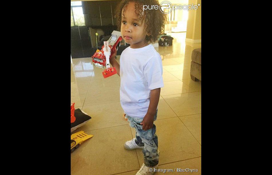 Photo de King Cairo (2 ans) publiée par BlacChyna le 9 mai 2015.