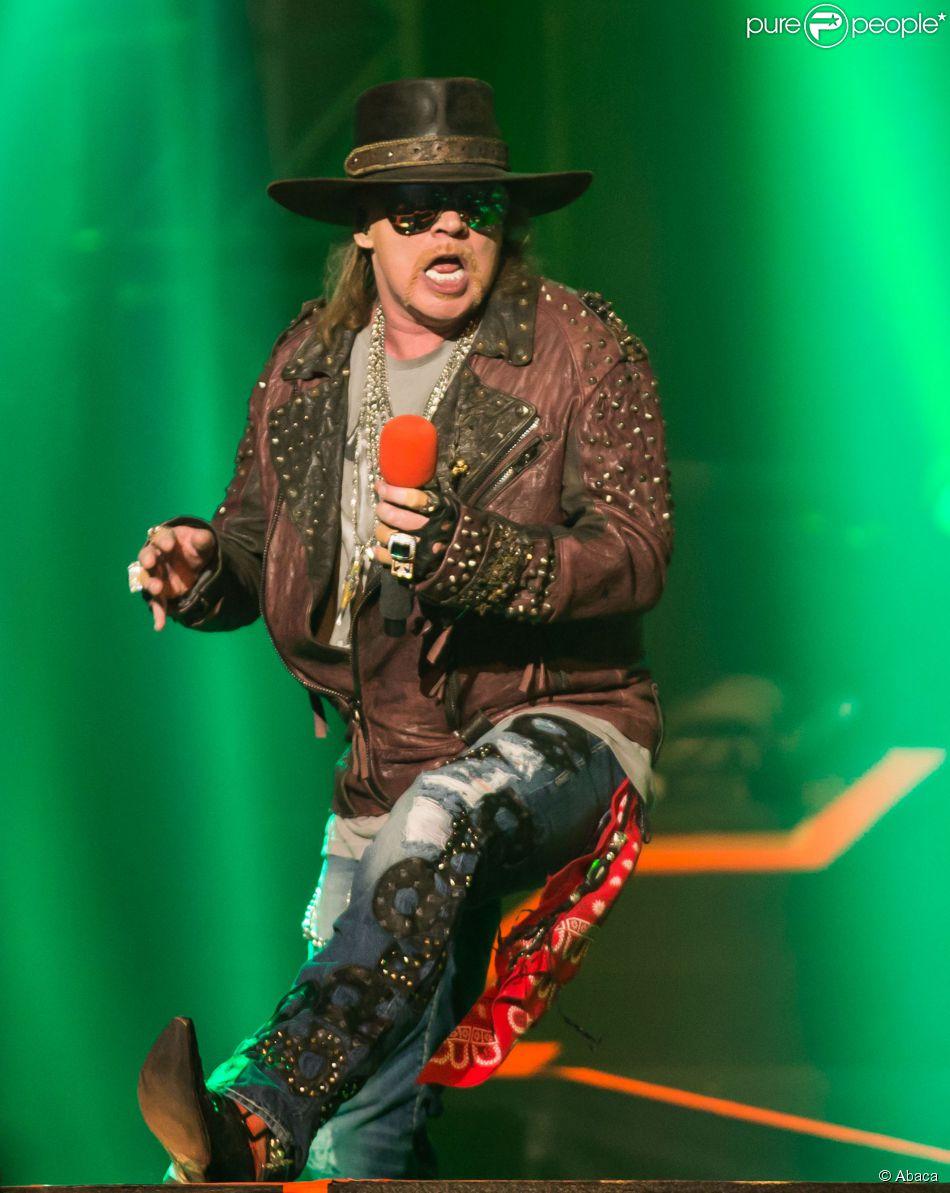 Le groupe Guns N' Roses à Las Vegas, le 21 mai 2014.