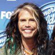 """Steven Tyler (Aerosmith), à la soirée """"American Idol"""" à Hollywood, le 13 mai 2015"""