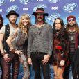 "Loving Mary (Le groupe de Stephen Tyler) à la soirée ""American Idol"" à Hollywood, le 13 mai 2015"
