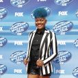"Tyanna Jones, à la soirée ""American Idol"" à Hollywood, le 13 mai 2015"