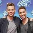 "Clark Beckham, Nick Freudian, à la soirée ""American Idol"" à Hollywood, le 13 mai 2015"