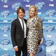 "Nicole Kidman et son mari Keith Urban à la soirée ""American Idol"" à Hollywood, le 13 mai 2015"