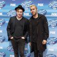 """Patrick Stump, Pete Wentz, à la soirée """"American Idol"""" à Hollywood, le 13 mai 2015"""