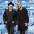 """Patrick Stump, Pete Wentz à la soirée """"American Idol"""" à Hollywood, le 13 mai 2015"""