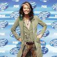 "Steven Tyler à la soirée ""American Idol"" à Hollywood, le 13 mai 2015"