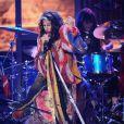 Steven Tyler lors de l'émission American Idol, le 13 mai 2015