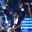 Nile Rodgers lors de l'émission American Idol, le 13 mai 2015