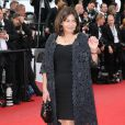"Anne Hidalgo - Montée des marches du film ""Irrational Man"" (L'homme irrationnel) lors du 68e Festival International du Film de Cannes, à Cannes le 15 mai 2015."