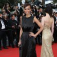 "Sonia Rolland (robe Rabih Kayrouz) - Montée des marches du film ""Irrational Man"" (L'homme irrationnel) lors du 68 ème Festival International du Film de Cannes, à Cannes le 15 mai 2015."