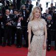 """Mélanie Laurent - Montée des marches du film """"Inside Out"""" (Vice-Versa) lors du 68e Festival International du Film de Cannes, le 18 mai 2015."""