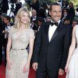 """Mélanie Laurent, Gilles Lellouche, Charlotte Le Bon - Montée des marches du film """"Inside Out"""" (Vice-Versa) lors du 68e Festival International du Film de Cannes, le 18 mai 2015."""