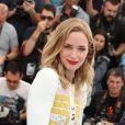 "Emily Blunt (robe Peter Pilotto) - Photocall du film ""Sicario"" lors du 68e festival international du film de Cannes le 19 mai 2015."