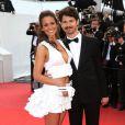 """Lucie Lucas et le réalisateur Gabe Klinger - Montée des marches du film """"Sicario"""" lors du 68e Festival International du Film de Cannes le 19 mai 2015."""