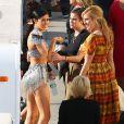 Rumer Willis et Tallulah Willis  avec leur soeur Rumer Willis lors de la finale de la 20e saison de Dancing with the Stars le 19 mai 20158