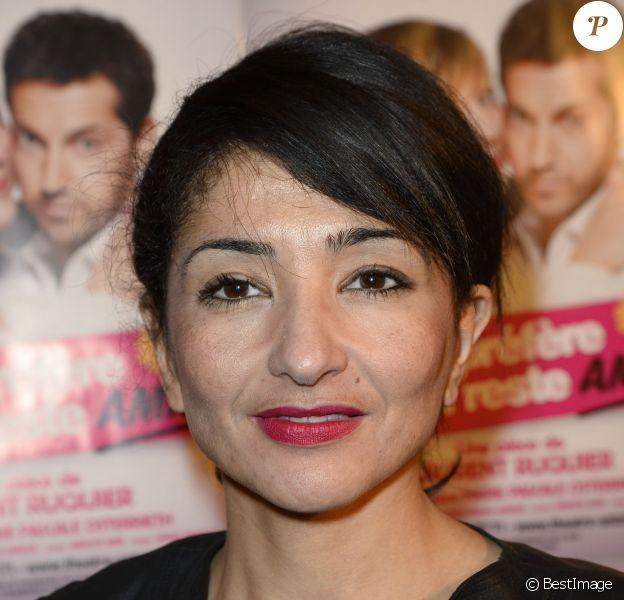 Jeannette Bougrab - People à la 150e représentation de la pièce Je préfère qu'on reste amis au théâtre Antoine à Paris le 5 novembre 2014.