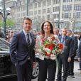 Le prince Frederik et la princesse Mary de Danemark étaient en visite officielle à Hambourg le 19 mai 2015