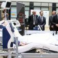 Le prince Frederik de Danemark visite la clinique Asklepios à Hambourg le 19 mai 2015 19/05/2015 - Hambourg